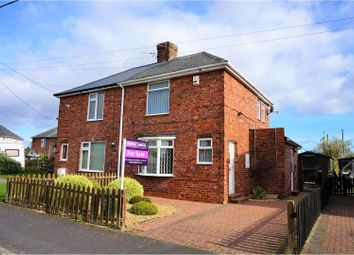Thumbnail 2 bed semi-detached house for sale in Barnard Avenue, Durham