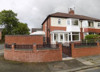 Thumbnail 3 bed semi-detached house for sale in Caister Avenue, Whitefield, Bury, Manchester - Fully Refurbished
