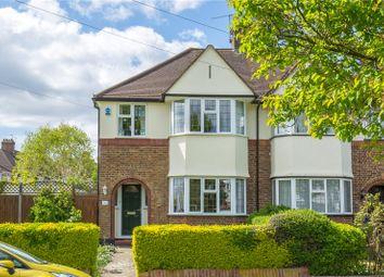 Thumbnail 3 bedroom semi-detached house for sale in West Walk, East Barnet, Barnet