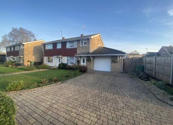 3 bed semi-detached house for sale in Elm Bank, Yateley, Hampshire GU46