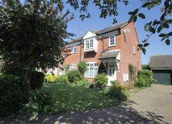 Thumbnail 3 bed end terrace house for sale in Old School Close, Codicote, Hitchin, Hertfordshire
