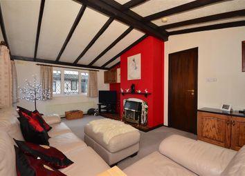 Thumbnail 2 bed mobile/park home for sale in Burnt Oak Lane, Newdigate, Dorking, Surrey