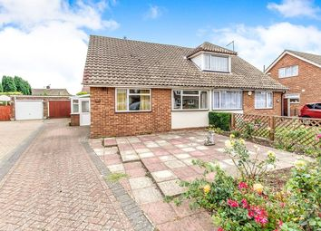 Thumbnail 3 bed bungalow for sale in Burleigh Close, Rochester