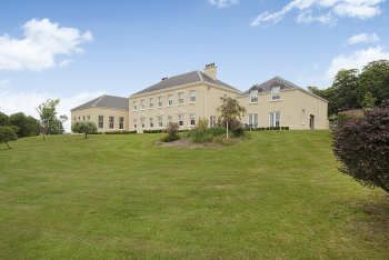 Thumbnail 9 bed country house for sale in Penbryn Manor, Llangunnor, Carmarthen