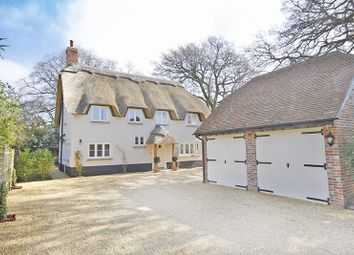 Thumbnail 4 bed detached house for sale in Meadow Lane, Burton, Christchurch
