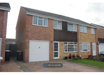 Thumbnail 4 bed semi-detached house to rent in Skipper Way, Lee-On-The-Solent