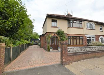 Thumbnail 4 bed semi-detached house for sale in St. Annes Road, Denton, Manchester
