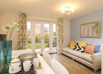 "Thumbnail 4 bedroom semi-detached house for sale in ""Haversham"" at Lake Road, Hamworthy, Poole"