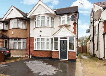 Thumbnail 4 bed semi-detached house for sale in Kenmore Avenue, Harrow, Middlesex