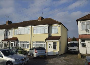 Thumbnail 3 bed end terrace house for sale in Orchard Grove, Kenton, Harrow, Middlesex