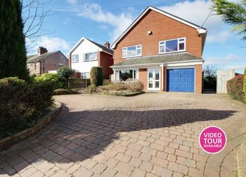 Thumbnail 4 bed detached house for sale in Tean Road, Cheadle, Stoke-On-Trent