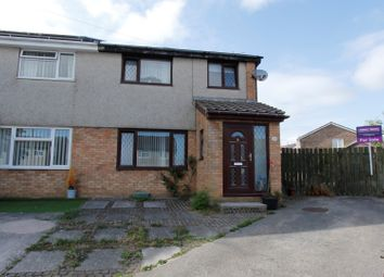 Thumbnail 3 bed semi-detached house for sale in Llys Y Fran, Cefn Glas