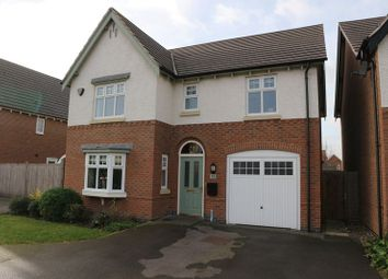 Thumbnail 4 bed detached house for sale in Speedway Close, Long Eaton, Nottingham