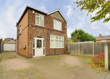 Thumbnail 3 bed detached house for sale in Abbey Road, West Bridgford, Nottinghamshire