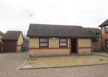 Thumbnail 2 bed detached bungalow for sale in Hazel Croft, Werrington, Peterborough
