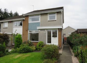 Thumbnail 3 bed terraced house for sale in Harvie Avenue, Newton Mearns, Glasgow