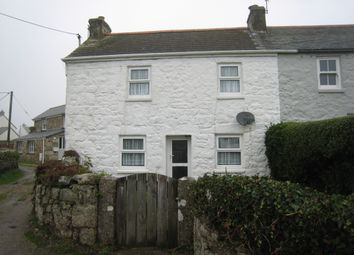 Thumbnail 2 bed end terrace house to rent in Galligan Lane, St. Buryan, Penzance
