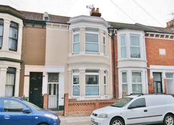 Thumbnail 4 bedroom terraced house for sale in Lawrence Road, Southsea