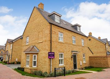 Thumbnail 4 bed detached house for sale in Denny Rise, Biggleswade