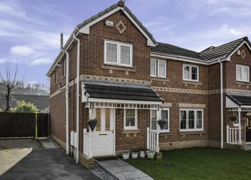 Thumbnail 3 bed semi-detached house for sale in Crossbrook Way, Milnrow