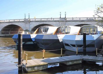 Thumbnail 3 bed houseboat for sale in Old Bridge Street, Hampton Wick, Kingston Upon Thames