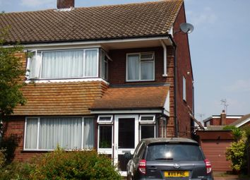 Thumbnail 4 bed semi-detached house for sale in Onslow Gardens, Ongar, Essex