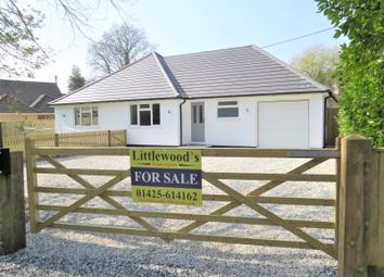 Thumbnail 3 bed detached bungalow for sale in Sunnyfield Road, Barton On Sea, New Milton