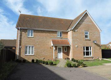 Thumbnail 3 bed semi-detached house for sale in Rushton Drive, Carlton Colville, Lowestoft