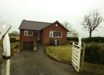 Thumbnail 3 bed detached bungalow to rent in Roundy Lane, Adlington, Macclesfield