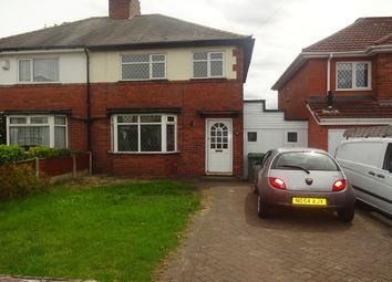 Thumbnail 3 bedroom property to rent in Leighswood Avenue, Aldridge, Walsall