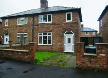 Thumbnail 3 bed semi-detached house to rent in Bridgewater Avenue, Latchford, Warrington