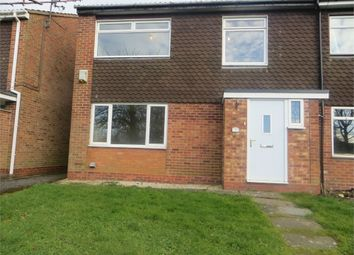 Thumbnail 3 bed end terrace house to rent in Well Close, Crabbs Cross, Redditch