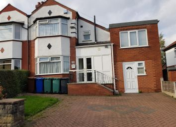 Thumbnail 4 bedroom semi-detached house for sale in Silverdale Avenue, Prestwich, Manchester