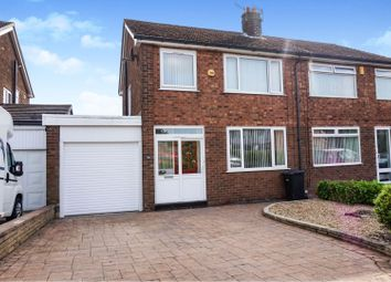 Thumbnail 3 bed semi-detached house for sale in Higher Barn Road, Glossop