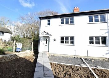 Thumbnail 3 bed semi-detached house for sale in Hospital Road, Stratton, Bude