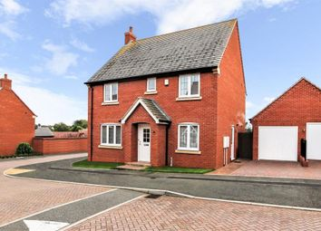 Thumbnail 4 bed detached house for sale in Hart Drive, Measham, Swadlincote, Leicestershire