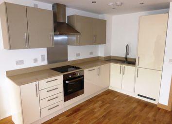 Thumbnail 2 bedroom flat to rent in Smeaton Court, Evron Wharf, Hertford