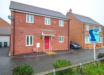 Thumbnail 3 bedroom detached house for sale in Morrisania Close, Coventry