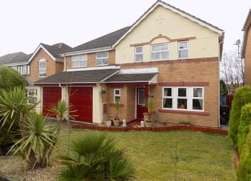 Thumbnail 5 bedroom detached house for sale in Clos Onnen, Margam Village, Port Talbot, Neath Port Talbot.