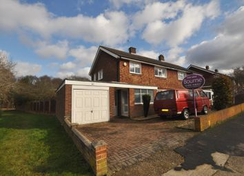 Thumbnail 3 bed semi-detached house for sale in Juniper Close, Guildford