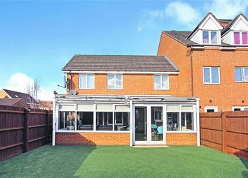 Thumbnail 3 bed terraced house for sale in Croyland Drive, Elstow, Bedfordshire