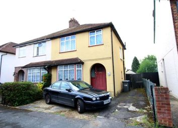 Thumbnail 3 bed semi-detached house for sale in Park Avenue, Egham