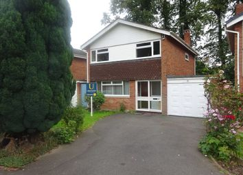 Thumbnail 4 bed detached house to rent in Mandeville Gardens, Highgate, Walsall