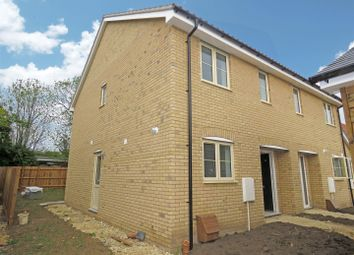 Thumbnail 2 bedroom end terrace house for sale in High Street, Offord Cluny, St. Neots