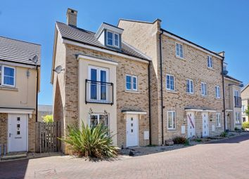 Thumbnail 4 bed end terrace house for sale in Buttercup Avenue, Eynesbury, St. Neots