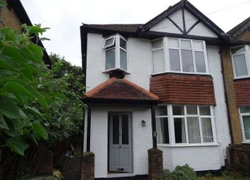 Thumbnail 3 bed semi-detached house for sale in Tavistock Avenue, St Albans