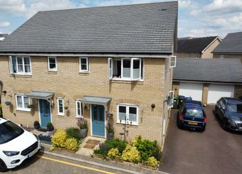 Thumbnail 3 bed semi-detached house for sale in Ash Tree Lane, St Neots