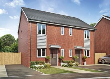 Thumbnail 2 bed semi-detached house for sale in Acacia Lane, Branston, Burton Upon Trent
