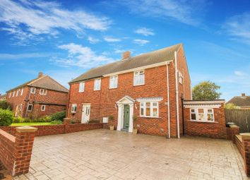 Thumbnail 2 bed semi-detached house for sale in Angerton Avenue, North Shields