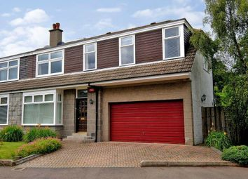 Thumbnail 4 bedroom semi-detached house for sale in Burnieboozle Crescent, Hazlehead, Aberdeen